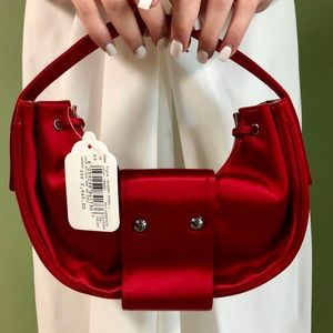 Armani Red handbag NWT